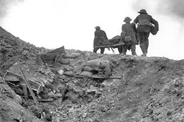 Stretcher Bearers on the Somme
